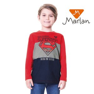 Camiseta Superman por Marlan
