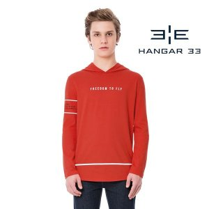 Camiseta com capuz Hangar33