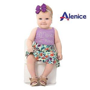 Conjunto body e saia Alenice