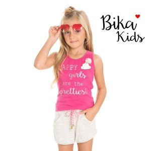 Conjunto regata e short Bika Kids