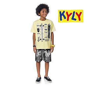 Conjunto camiseta e bermuda Kyly