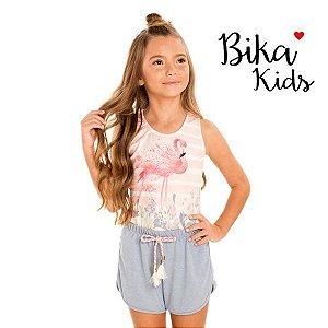 Conjunto regata e short Bika Kids