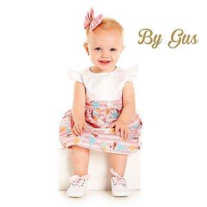Conjunto vestido e calcinha By Gus