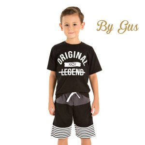 Conjunto camiseta e bermuda By Gus