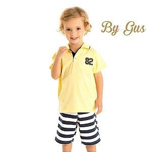 Conjunto camisa e bermuda By Gus