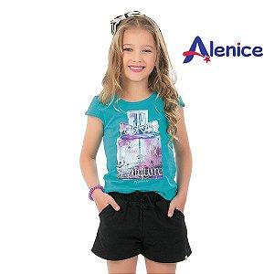 Conjunto blusa e short Alenice