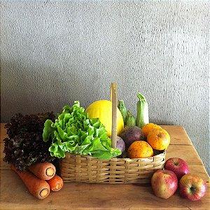 Cesta média de produtos orgânicos - 8 itens