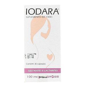 Iodara - 100 Mcg - 30 Cp