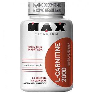 L-Carnitine 2000 - 60caps - Max Titanium