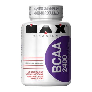 BCAA 2400 mg (100 Cápsulas) - Max Titanium