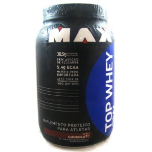 Top Whey 3w Max Titanium 900g Chocolate