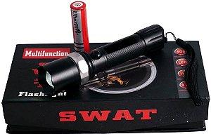 Lanterna Tática Militar Swat Police Led Cree Frete Grátis