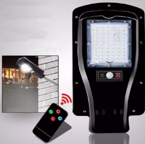 Luminária De Poste De Energia Solar Pronta Para Uso 30w