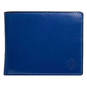Carteira Masculina Colors Azul