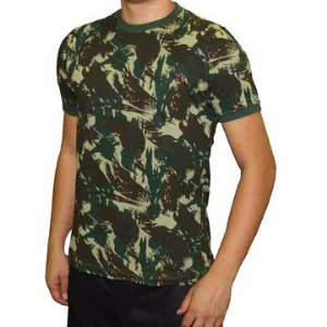 Camiseta Camuflada Camisa Airsoft Paintball