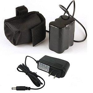 Pack bateria 5v 1ahm com fonte