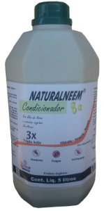 Condicionador anti pulgas e carrapatos Naturalneem 5 L