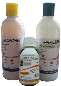 Kit Naturalneem Shampoo Condicionador 500 ml + óleo de Neem 100 ml