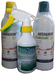 KIT Shampoo + Condicionador + PET - NEEM Repelente Kit - R
