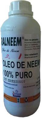 Óleo de Neem 100% Puro Não emulsificado 1 Litro