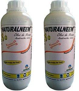 Óleo de Nim Neem Naturalneem 02 FRASCOS (2 litros)