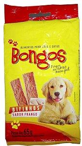 Bifinho, Filézinho petisco de Frango para Cães 1 Pcte 65 Gr