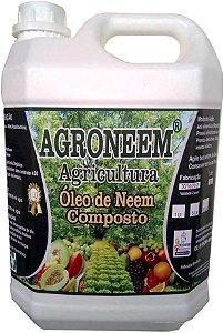 Agroneem - Óleo de Neem Nim Composto Agrícola 5 Litros