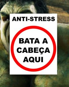 Placa Decorativa - Anti-Stress