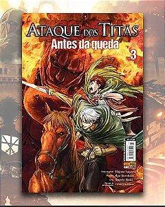 Ataque Dos Titãs - Antes Da Queda Vol 3 - Shingeki no Kyojin