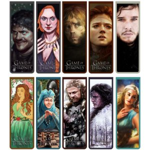 Marcador De Página Magnético Game of Thrones - Série 2