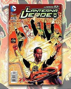 Lanterna Verde Nº 41 (Capa Variante) - Novos 52 DC Comics