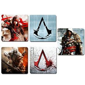 Ímãs Decorativos Assassin's Creed - Série 1