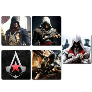 Ímãs Decorativos Assassin's Creed - Série 2