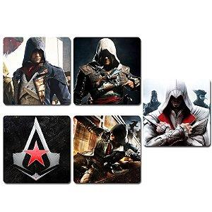 Ímãs Decorativos Assassin's Creed - Série 2