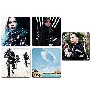 Ímãs Decorativos Star Wars Rogue One - Série 1