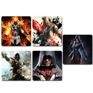 Ímãs Decorativos Assassin's Creed - Série 3