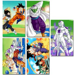 Ímãs Decorativos Dragon Ball - Série 2