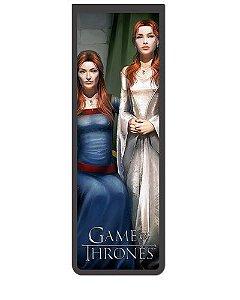 Marcador De Página Magnético Catelyn e Sansa - Game of Thrones - GOT14