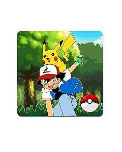Ímã Decorativo Ash e Pikachu - Pokémon - POK05