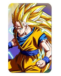 Ímã Decorativo Goku SSJ3 - Dragon Ball Z - DBZ019