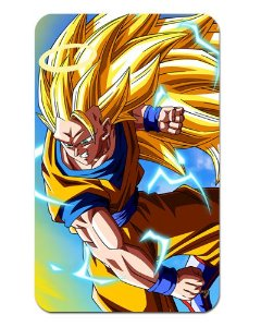Ímã Decorativo Goku SSJ3 - Dragon Ball Z - DBZ020
