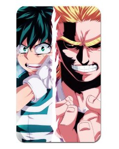 Ímã Decorativo Midoriya e All Might - My Hero Academia - MHA009