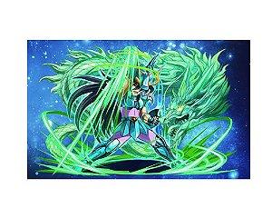 Ímã Decorativo Shiryu - Cavaleiros do Zodíaco - IMACDZ002