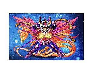 Ímã Decorativo Ikki - Cavaleiros do Zodíaco - IMACDZ008