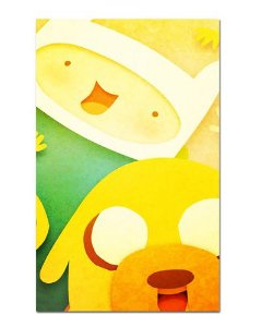 Ímã Decorativo Finn e Jake - Adventure Time - IAT001