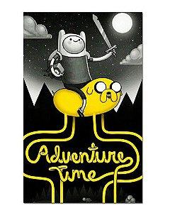 Ímã Decorativo Finn e Jake - Adventure Time - IAT003