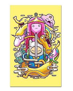 Ímã Decorativo Hora de Aventura Toten - Adventure Time - IAT008