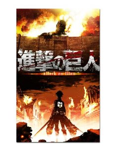 Ímã Decorativo Attack on Titan - Shingeki no Kyojin - IANSK004