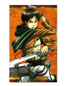 Ímã Decorativo Eren Attack on Titan - Shingeki no Kyojin - IANSK005