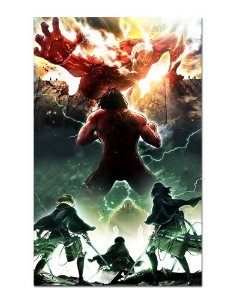 Ímã Decorativo Attack on Titan - Shingeki no Kyojin - IANSK009